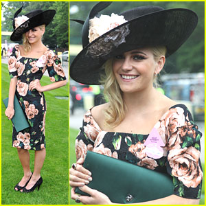 Pixie Lott: Royal Ascot Ladie's Day 2013