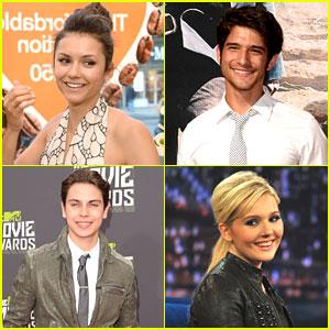 2013 Power of Youth Honorees: Jake T. Austin, Tyler Posey, Nina Dobrev & Abigail Breslin!