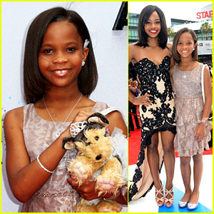 Quvenzhane Wallis: BET Awards 2013 Red Carpet