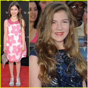 Sterling Jerins & Abagail Hargrove: 'World War Z' NYC Premiere