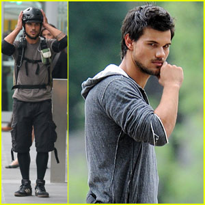 Taylor Lautner: Bench's Global Benchsetter 2013!