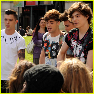 Union J: Busking Before BBC Radio Stop