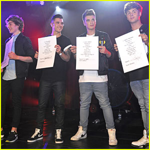 Union J: Get 'Carry You' To Number 1!