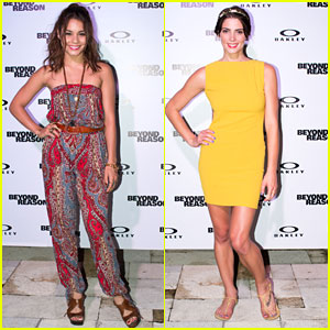 Vanessa Hudgens & Ashley Greene: Oakley Bali Pro 2013