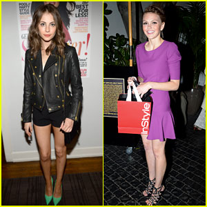 Willa Holland & Aimee Teegarden: Elizabeth And James Fall 2013 Launch