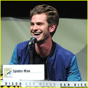 Andrew Garfield: 'Amazing Spider-Man 2' Panel at Comic-Con