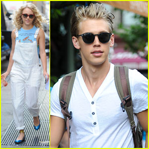 AnnaSophia Robb & Austin Butler: 'Carrie Diaries' Filming with Lindsey Gort!