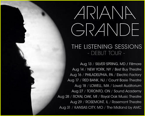 Ariana Grande Tour Dates Ariana Grande Concert Dates And Tickets ...