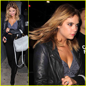 Ashley Benson: Selena Gomez Birthday Party Exit