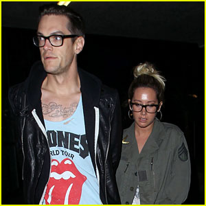 Ashley Tisdale & Christopher French: Monday Movie Date!