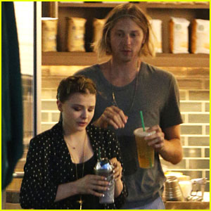 Chloe Moretz: Starbucks Stop with Brother Trevor!