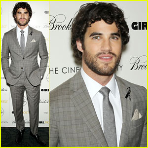 Darren Criss Honors Cory Monteith at 'Girl Most Likely' Premiere
