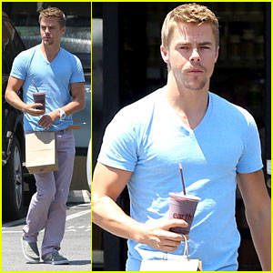 Derek Hough: Juice-To-Go Guy
