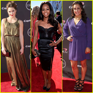Gabby Douglas & McKayla Maroney: ESPY Awards 2013 With Fierce Five!