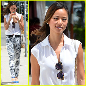 Jamie Chung Trains for the Nike Women's Marathon!