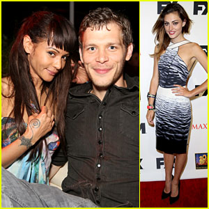 Joseph Morgan & Phoebe Tonkin: Maxim Comic-Con Party Goers!