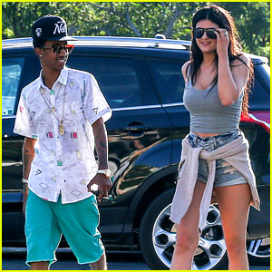 Kylie Jenner Catches a Movie with Lil Twist
