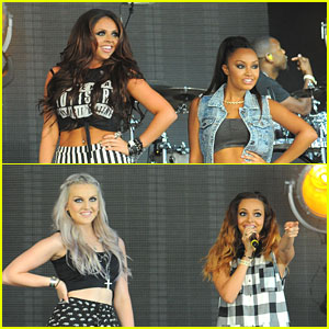 Little Mix: Wireless Festival 2013 Concert Pics
