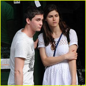 Logan Lerman & Alexandra Daddario: Italy Twosome!