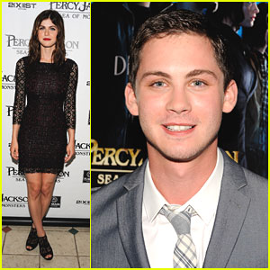 Logan Lerman & Alexandra Daddario: 'Percy Jackson: Sea of Monsters' Hamptons Screening