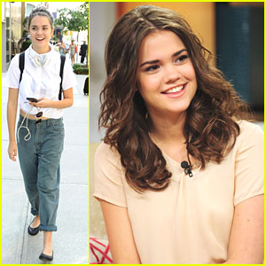 Maia Mitchell: Thanks For The Teen Choice Nomination!