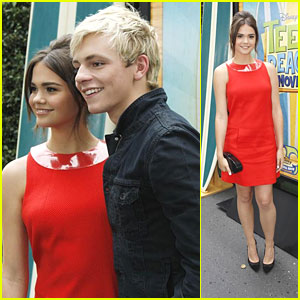 Maia Mitchell & Ross Lynch: 'Teen Beach Movie' Cast Screening