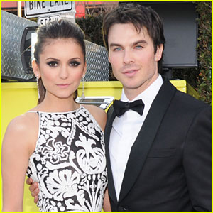 Nina Dobrev & Ian Somerhalder Joke About Breakup at Comic-Con