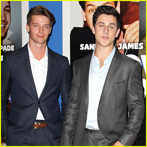 Patrick Schwarzenegger & David Henrie: 'Grown Ups 2' Guys