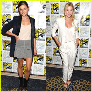 Phoebe Tonkin & Claire Holt: 'The Originals' Panel at Comic-Con 2013