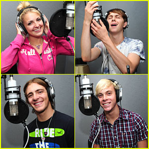 R5 Hits The Recording Studio!