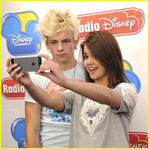 Ross Lynch & Maia Mitchell: Radio Disney Visit!