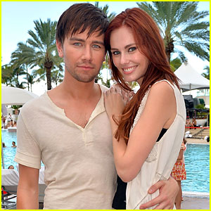 Torrance Coombs & Alyssa Campanella: iHeartRadio Pool Party Pair