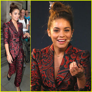 Vanessa Hudgens: Apple Store Appearance