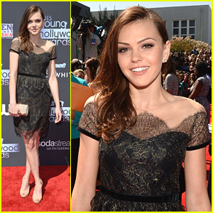 Aimee Teegarden - Young Hollywood Awards 2013