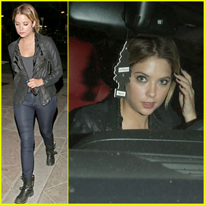 Ashley Benson & Ryan Good: WeHo Dinner Night