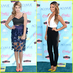 Ashley Benson & Shay Mitchell - Teen Choice Awards 2013