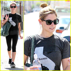 Ashley Greene: Monday Morning Workout