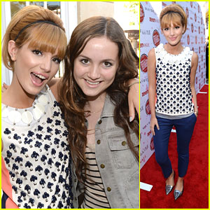 Bella Thorne: Teen Vogue Back-To-School Event with Maude Apatow