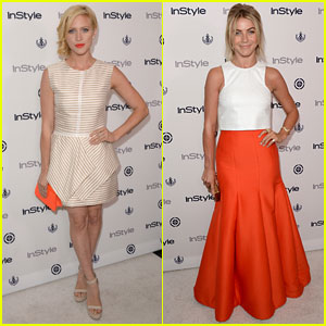 Brittany Snow & Julianne Hough: InStyle Summer Soiree 2013