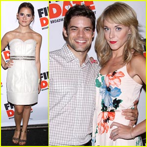 Carly Rose Sonenclar & Jeremy Jordan: 'First Date' Opening Night!
