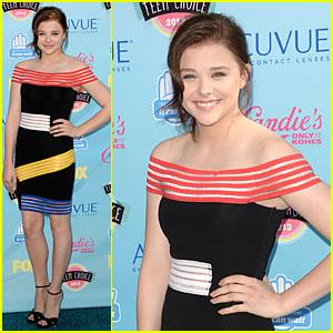 Chloe Moretz - Teen Choice Awards 2013