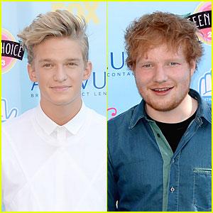 Cody Simpson & Ed Sheeran - Teen Choice Awards 2013