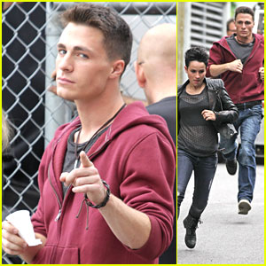 Colton Haynes Dreams About Donuts