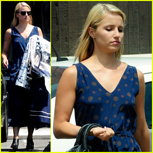 Dianna Agron: Busy Bee Monday!