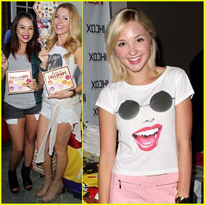 Janel Parrish & Lindsay Taylor: Pre-Teen Choice Gifting Suite!