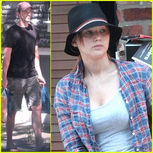 Nicholas Hoult & Jennifer Lawrence: Montreal Mates