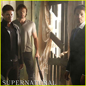 Jensen Ackles & Jared Padalecki: 'Supernatural' First Promo Pic Rev