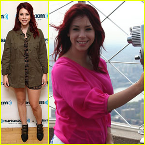 Jillian Rose Reed Hits the Big Apple
