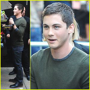Logan Lerman: 'Percy' on 'Good Morning America'