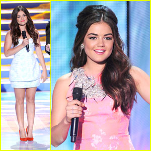 Lucy Hale: Hosting Teen Choice Awards 2013 Was 'Unbelievably Amazing'